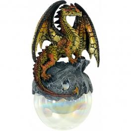"""Dragon sur sa boule à suspendre """"Hyperion"""""""