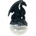 """Dragon sur sa boule à suspendre """"Black"""""""