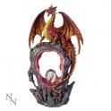 "Figurine dragon ""Magma's Gateway"""