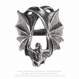 "Bague Alchemy Gothic ""Stealth"""