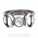 "Bague Alchemy Gothic ""Triple Goddess"""