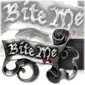 """Boucle ceinture Alchemy Gothic """"Bite Me"""""""