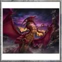 """Plaque murale en céramique """"Unleash the Dragon"""" de Tom Wood"""