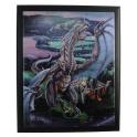 """Plaque murale """"Incineration"""" de Tom Wood"""