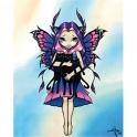 "Plaque murale ""Bat Wings"" de Jasmine Becket Griffith"