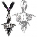 "Collier Alchemy Gothic ""Bouquet Noir"""